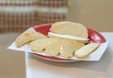 Jamaicaanse Braadstuk gebraden broodvruchten Royalty-vrije Stock Foto's