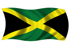 Jamaicaanse Vlag Stock Illustratie
