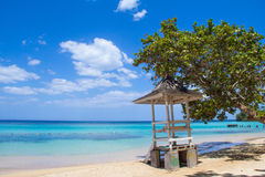 Jamaican Beach A Stock Photography