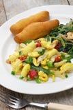 Jamaican breakfast Royalty Free Stock Photography