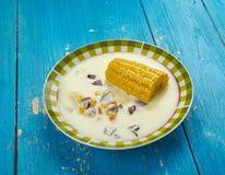 Jamaican Corn Soup Royalty Free Stock Image
