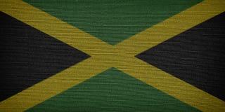 Jamaican fabric flags vector illustration