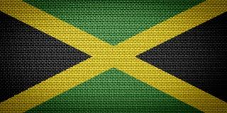 Jamaican fabric flags stock photos