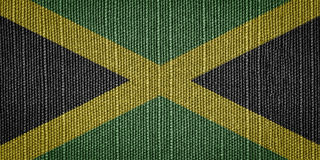 Jamaican flags stock images