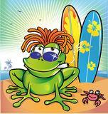 Jamaican frog  summer Stock Photo