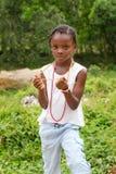 Jamaican Girl royalty free stock photo