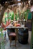 Jamaican jungle bar Stock Photo