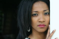 jamaican kvinna arkivbild