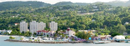 Jamaican Resort Stock Photography