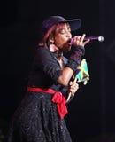 Jamaican songstress Keisha Patterson Royalty Free Stock Photos