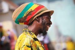Jamaican street vendour Royalty Free Stock Image