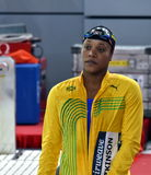 Jamaican swimmer and olympian Alia ATKINSON JAM. Hong Kong, China - Oct 29, 2016. Jamaican swimmer and olympian Alia ATKINSON JAM at the start in Women`s Stock Photo