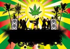 Jamaika Party Vektor Abbildung