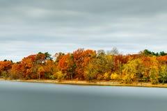 Jamaika-Teich in der Herbstsaison stockbilder