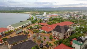 Jamaika während eines Regensturms Lizenzfreie Stockfotos