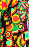 Jamaikanfärger/hattar Jamaica Arkivfoton