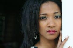 Jamaikanische Frau Stockfotografie