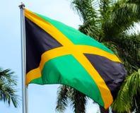 Jamaikanische Markierungsfahne stockbilder