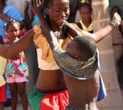 Jamaikanischer Straßen-Ausführender Lizenzfreies Stockbild