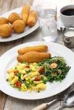 Jamaikanisches Frühstück Stockbild