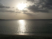 Jamaikas Sonnenuntergang Stockfotografie