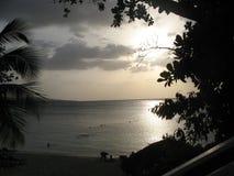 Jamaikas Sonnenuntergang Lizenzfreie Stockfotografie