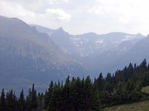 Jamais montagnes 2 d'été Image libre de droits