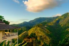 Jamajka Błękitne góry House-2 zdjęcie stock