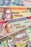 Jamajka waluta fotografia royalty free