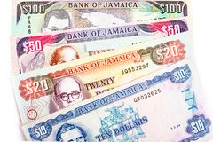 Jamajka waluta zdjęcia stock