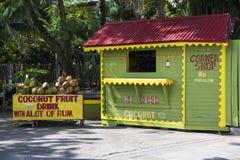 Jamajski kiosk dla zimnych i świeżych napojów Zdjęcia Stock