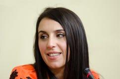 Jamala, победитель состязания песни Евровидения 2016 Стоковое Фото