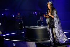 Jamala de Ucrânia eurovision 2017 imagens de stock royalty free