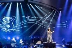 Jamala de Ucrania la Eurovisión 2017 imagenes de archivo