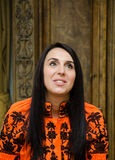 Jamala, the winner of Eurovision Song Contest 2016 stock photo