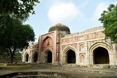 Jamali Kamali Mosque Stock Photo