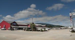 Jamatt RV försäljningar, campa värld, Poteau, Oklahoma royaltyfri fotografi