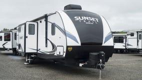 Jamatt RV Sales, Camping World, Poteau, Oklahoma stock images