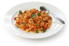 Jambalaya , creole rice dish Stock Photos