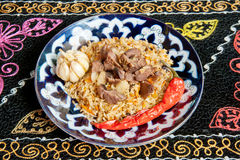 Jambalaya,pilaf,fried rice Stock Photography