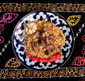 Jambalaya,pilaf,fried rice Royalty Free Stock Image