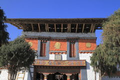 Jambay Lhakhang Royalty-vrije Stock Afbeelding