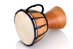 Jambe Drum - horizontal profile Stock Photography