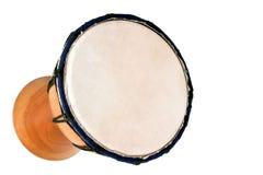 Jambe Drum - Horizontal Top. Balinese gamelan making mahogany wood drum Stock Images