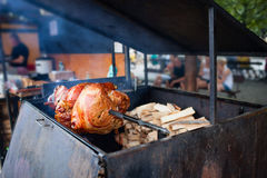 Jambe rôtie de porc Photo libre de droits