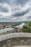 Jambes Bridge in Namur, Belgium Stock Image
