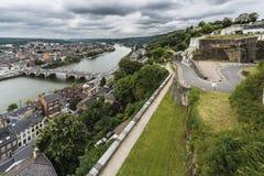 Jambes Bridge in Namur, Belgium Royalty Free Stock Image