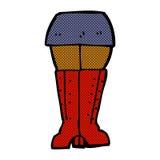 jambes comiques de bande dessinée Photos libres de droits