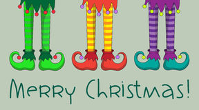 Jambes d'Elf Photos libres de droits