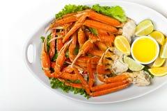 Jambes de crabe Photographie stock libre de droits